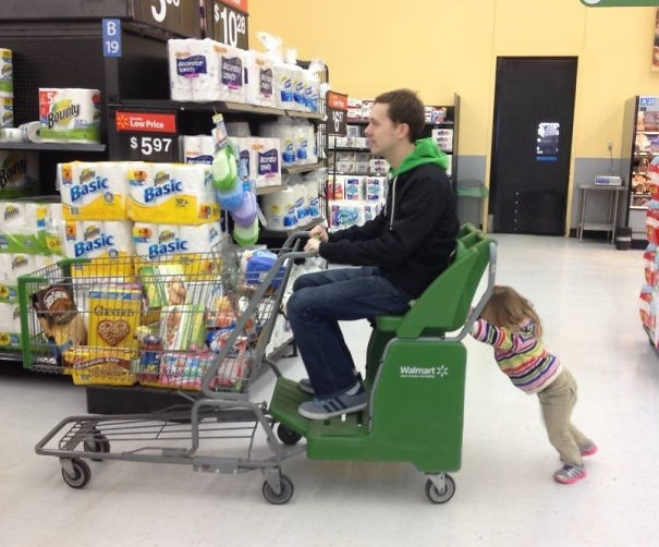 ppa en carrito de supermercado