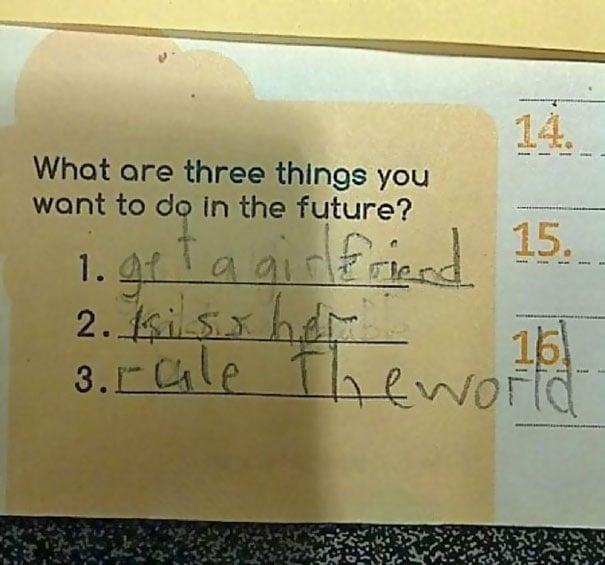 deseo niño dominar al mundo