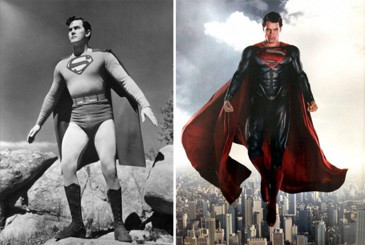 superman 1948 y en 2015