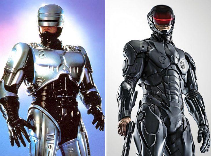 robocop 1995 y en 2014