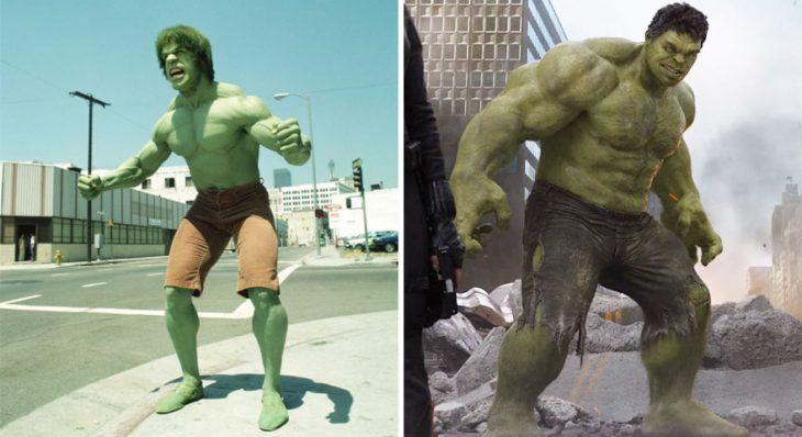 hulk en1978 y en 2015