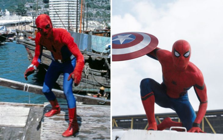 spiderman 1966 y 2016