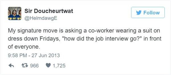 singature joke trabajo tuit