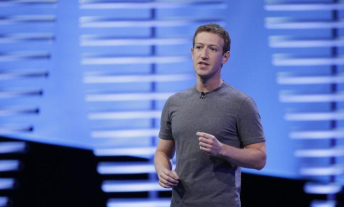 zuckerberg en fondo azul