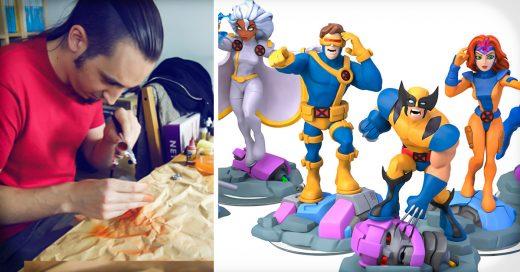 COVER Artista crea sus propias figuras de X-Men… y un invitado