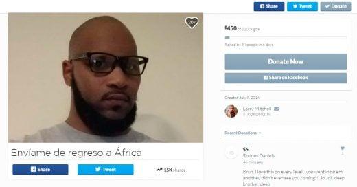 COVER Este Alfa le pide dinero a los racistas para su campaña