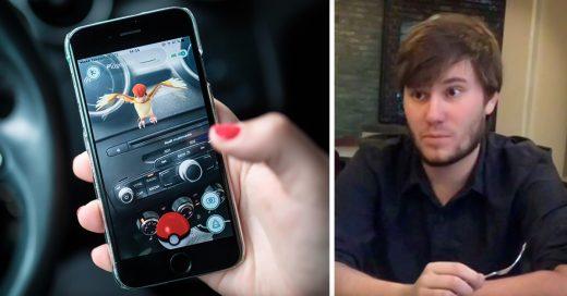 COVER Su novia descubre a su novio con otra con Pokemon Go