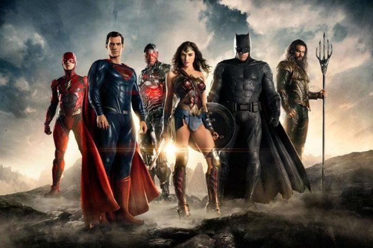 primer poster 'La Liga de la Justicia'