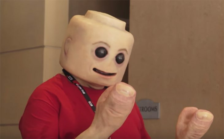 "Lego ""real"" en Comic Con"