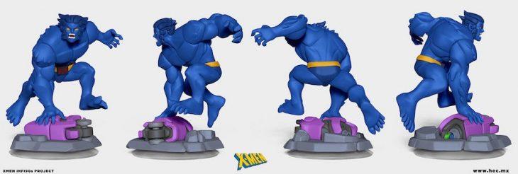 Figura de los X-Men