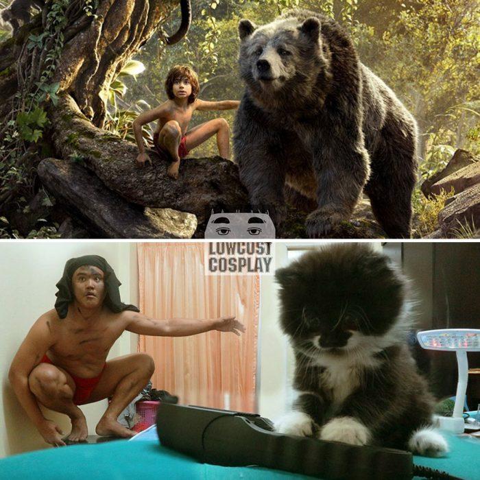 mowgli cosplay
