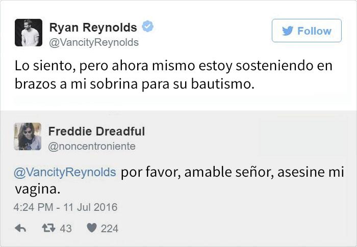 Tuit Ryan Reynolds
