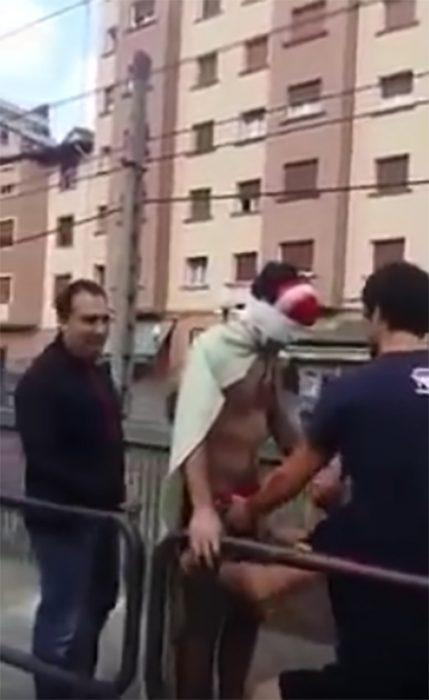 Broma de salto en bungee