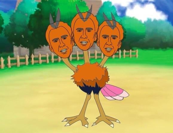 Nicolas Cage Pokémon