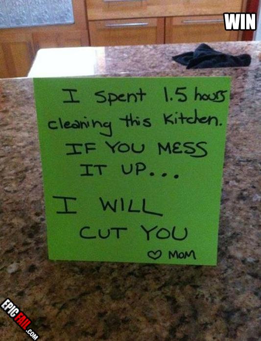 no ensuciar la cocina