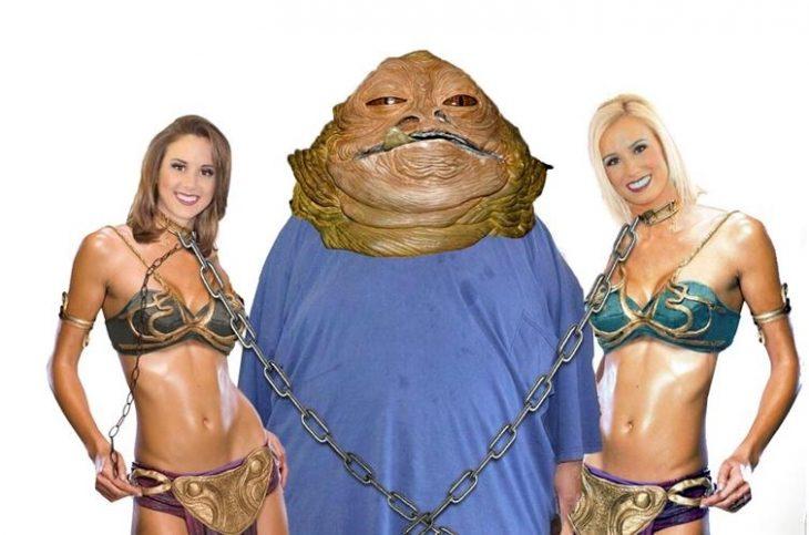 jabba con porristas