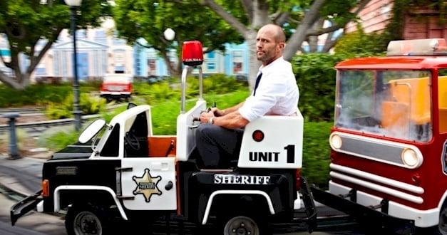 statham carro policia