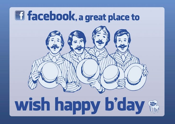 happy bday facebook