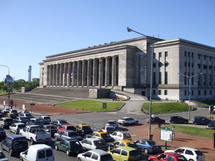 Facultad de Derecho en la UBA