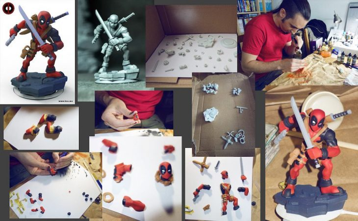 Héctor Morán crea figuras con ZBrush