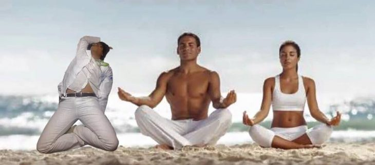 yoga doctor se queda dormido