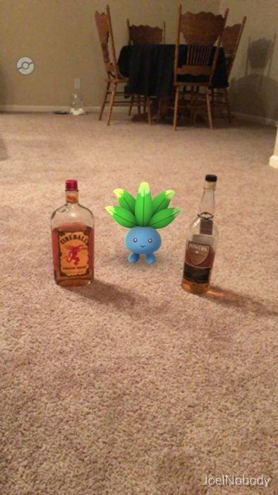 pokemon botellas