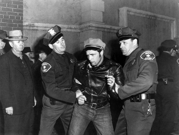 marlon brando police