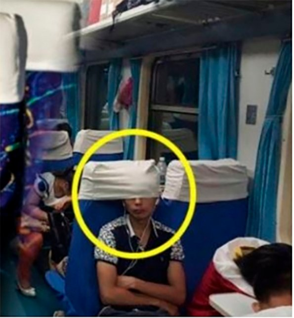 Funda de autobús es para la cabeza