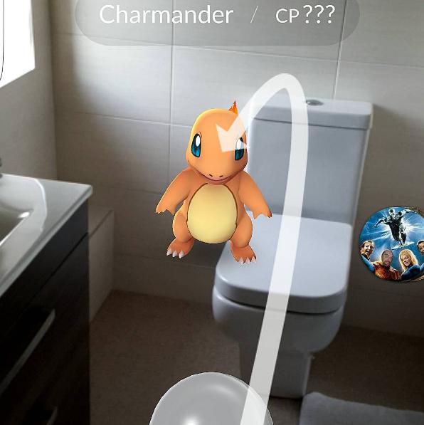poke en wc