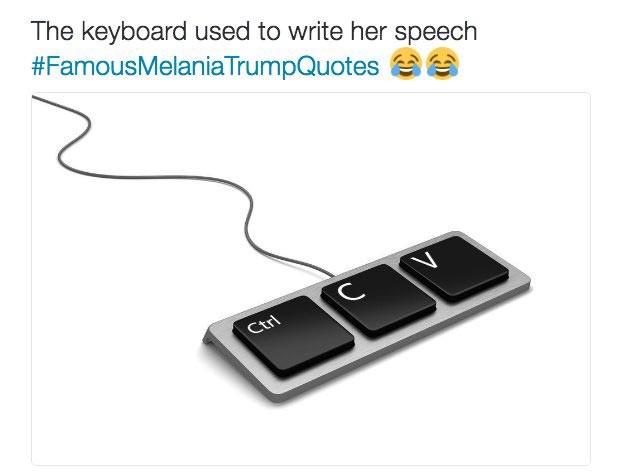 teclado trump