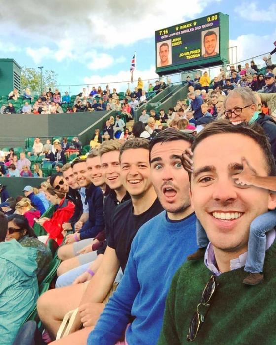 caballito selfie