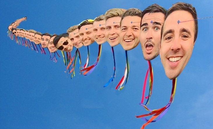selfie kite