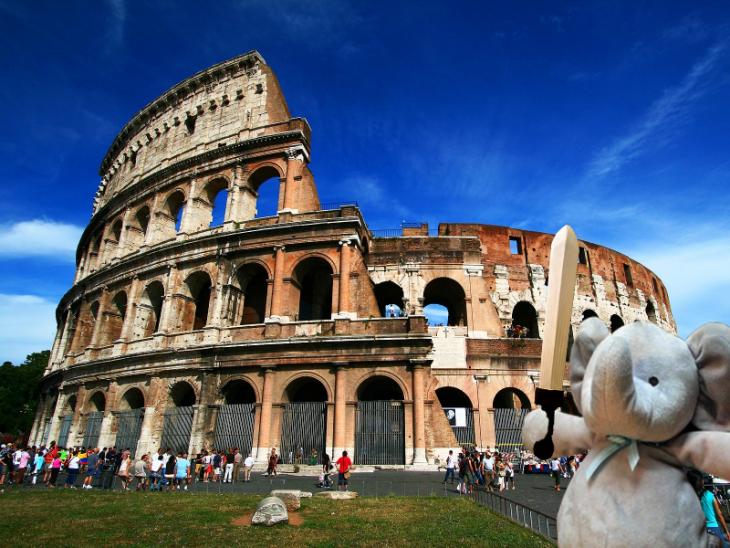 elefante Coliseo Romano