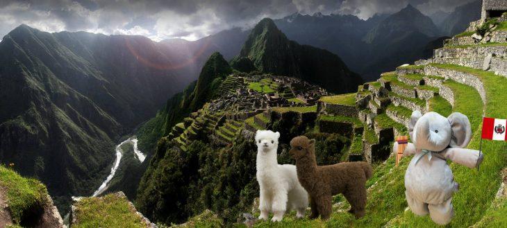 elefante en Machu Picchu