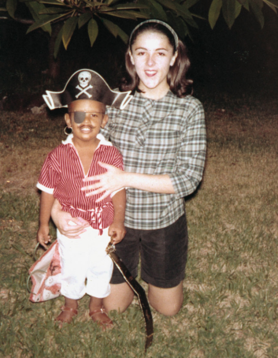 obama y su madre