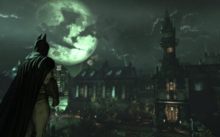 batman fuera de arkham asylum