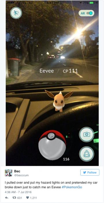 pokemon en volante