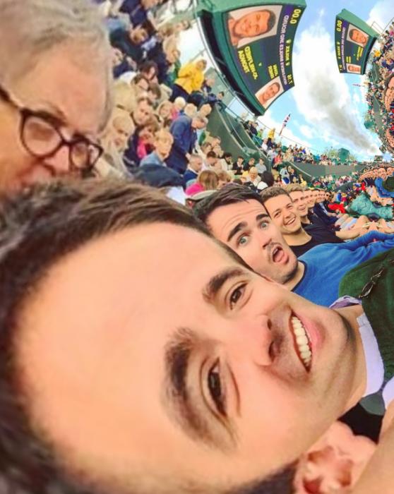 tobogan selfie