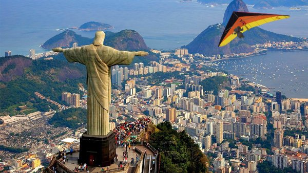 elefante Cristo Redentor en Río