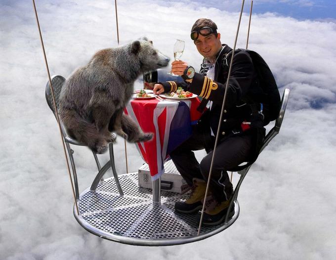 bear cenando cn bear pshb