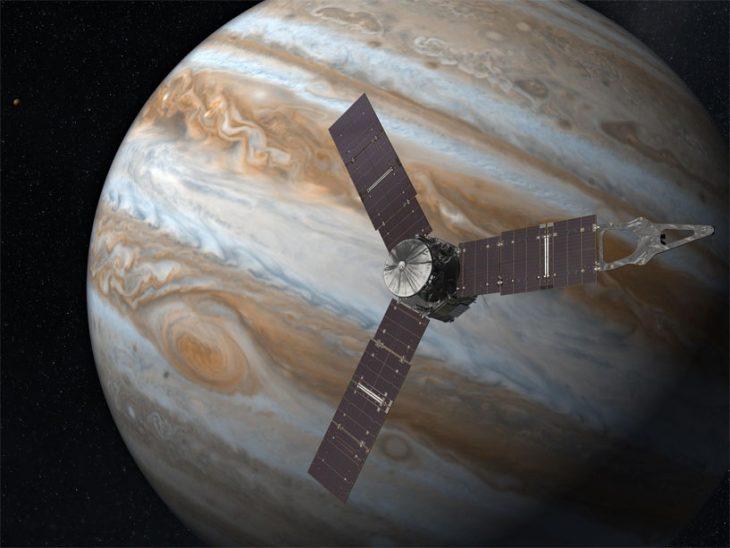 Sonda Juno llega a Júpiter