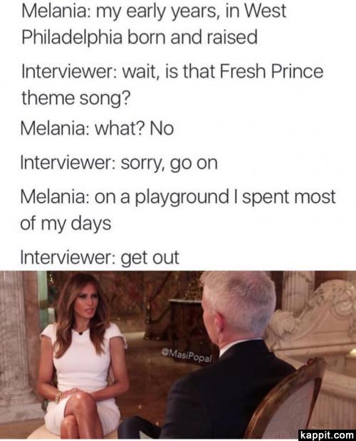melania fresh prince