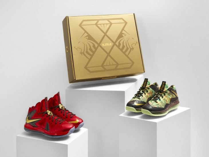 Lebron 10 Celebration Pack
