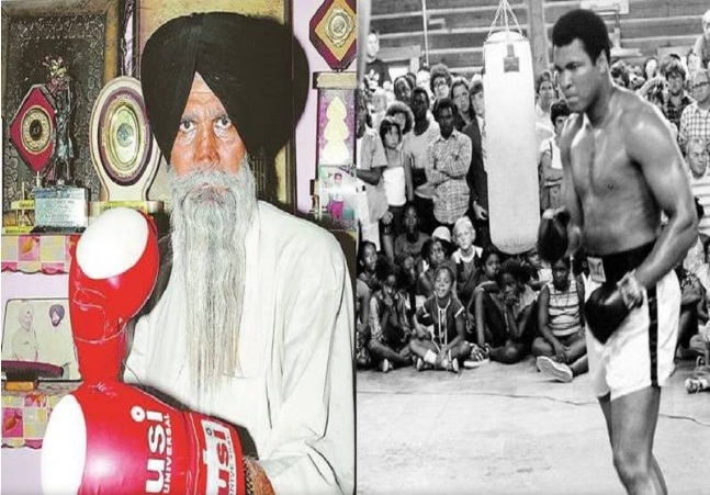 peleador indio y ali