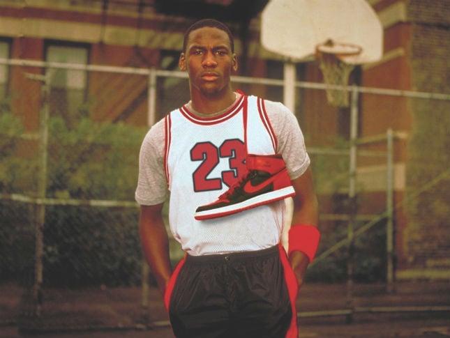Michael Jordan en sus inicios