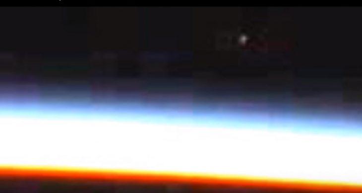 Imagen tomada desde la Estación Espacial Internacional