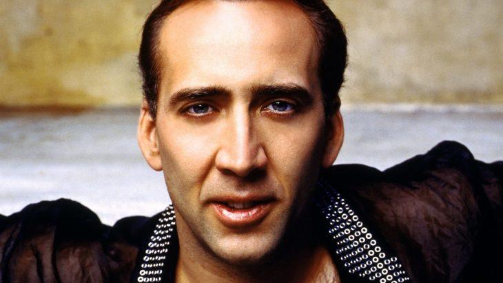 Nicholas Cage en close up