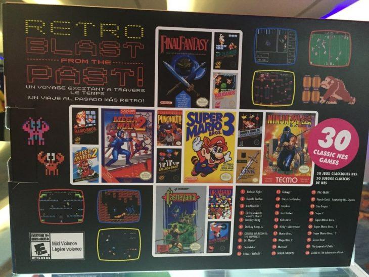 NES versión Mini