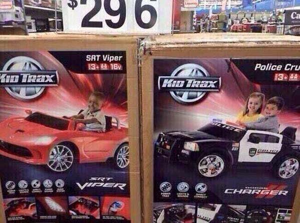 racismo walmart carros