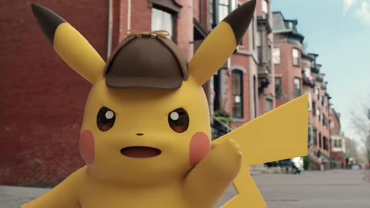 Detective Pikachu en tráiler de película